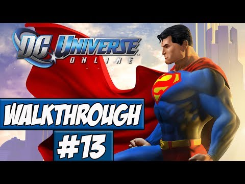 DC Universe Online Walkthrough Ep.13 w/Angel - My Base!