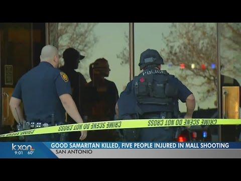 1 killed, 5 injured in shooting at San Antonio mall
