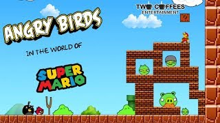 Angry Birds in the world of Mario Bros