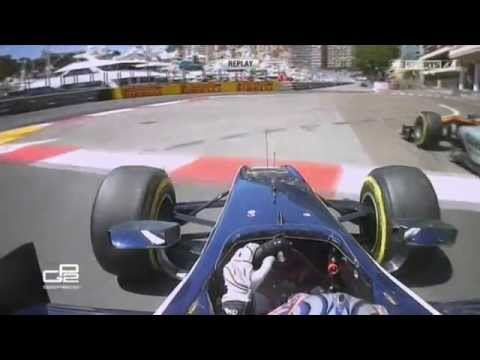 GP2 2015. Monaco. Mitch Evans and Nick Yelloly Contact