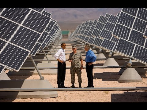 Is the Military the Future of Renewable Energy?