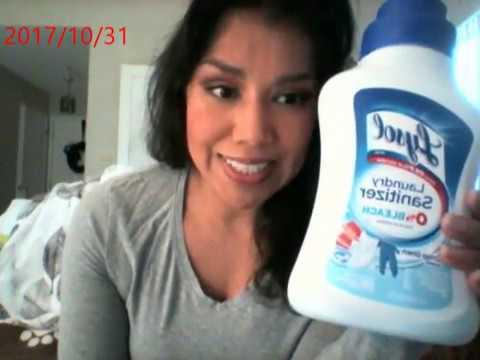 XML Lysol Laundry Sanitizer- A pet owners must