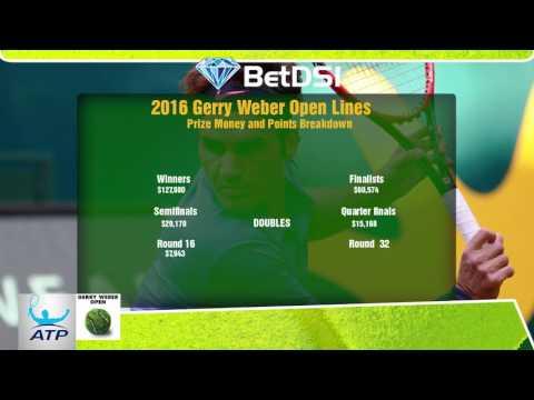 ATP Tennis Betting - Gerry Weber Open 2016 Odds