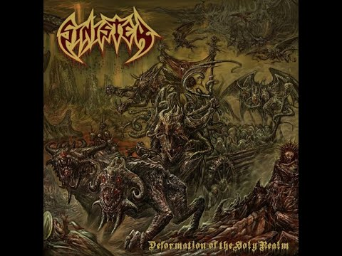 Sinister announce new album Deformation Of The Holy Realm ...!