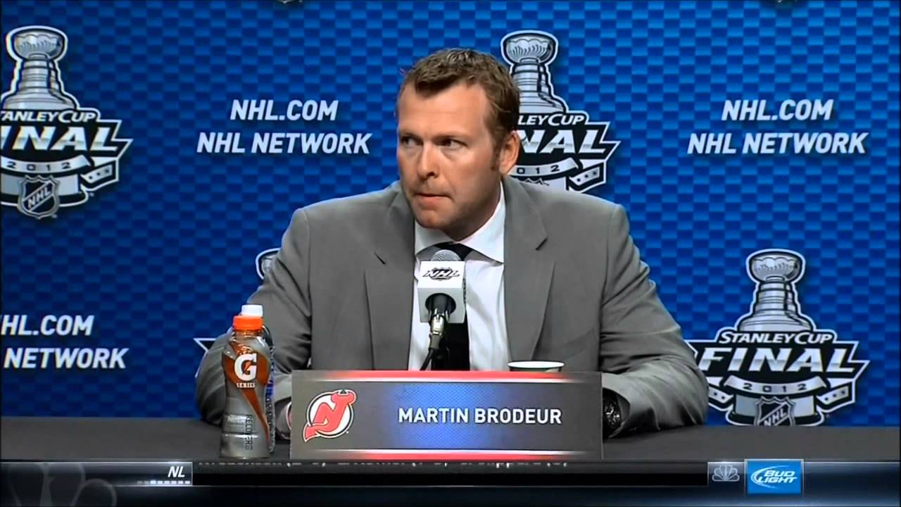 Martin Brodeur Interview He Does Drugs Youtube