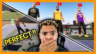 NBA 2K19 PARK FT. CASHNASTY AND TROYDAN!! YOUTUBERS TAKEOVER!!