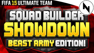 FIFA 15 SQUAD BUILDER SHOWDOWN AKINFENWA BEAST Squad Builder Battles
