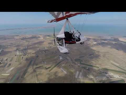 2016 France Microlight holiday with Mick & Garrick