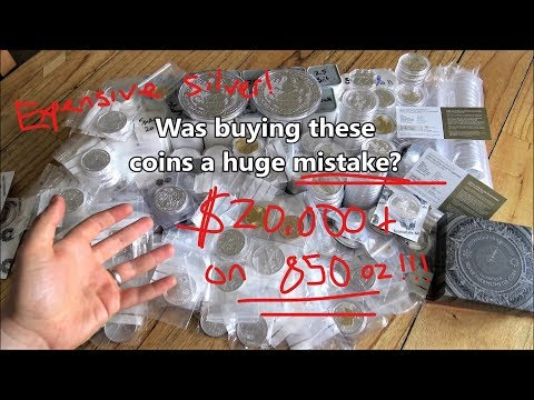 Was buying these premium silver coins a bad idea?