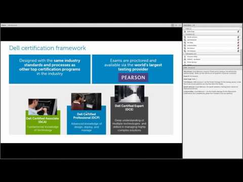 Dell Certification and Services Competency Webinar