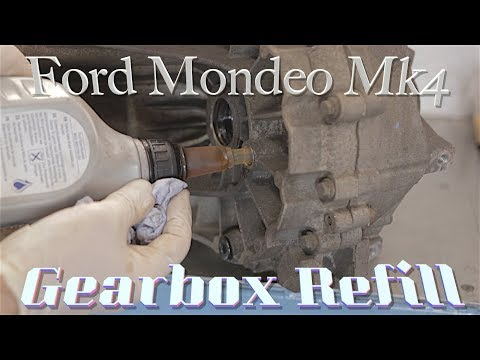 Ford Mondeo Mk4, Manual Gearbox Oil Change