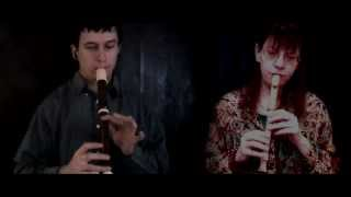 The Last Of The Mohicans - recorders duet