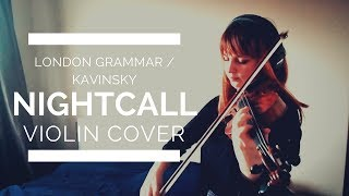 London Grammar / Kavinsky - Nightcall / Drive Movie Soundtrack (violin cover)