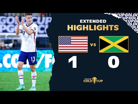 Extended Highlights: USA 1-0 Jamaica – Gold Cup 2021