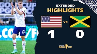 Extended Highlights: USA 1-0 Jamaica - Gold Cup 2021