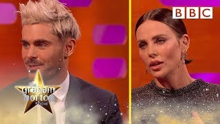 How Zac Efron and Charlize Theron get into character - BBC The Graham Norton Show
