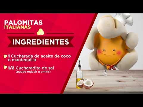 Palomitas Italianas - Recetario de Palomino