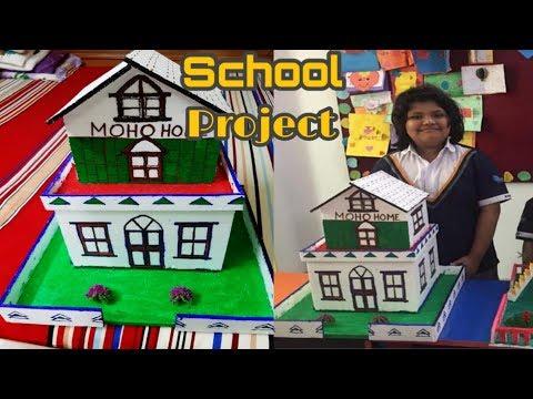 Download How to make thermocol house    schools project     খুব সহজে কি ভাবে ঘর তৈরি করা যায়