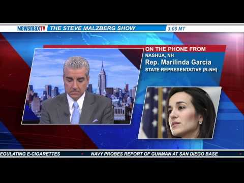 Rep. Marilinda Garcia -- state representative and candidate for Congress in New Hampshire