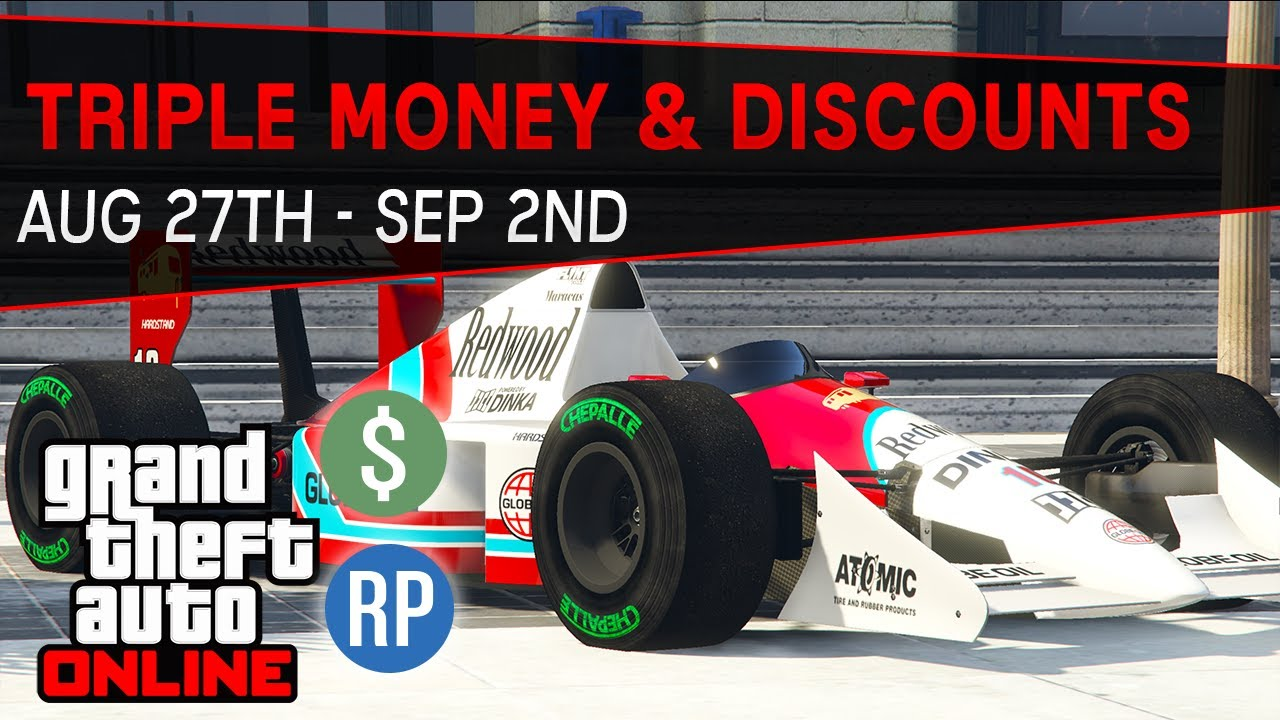 GTA Online Triple & Double Money and Discounts This Week (GTA 5 Event Week) | Aug 27th - Sep 2nd