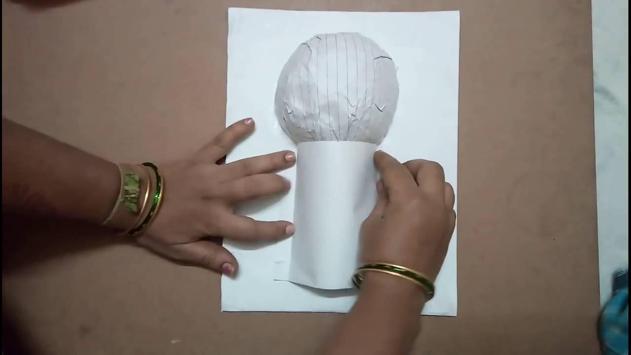 making an igloo model for kids