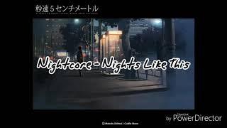 Nightcore - Nights Like This