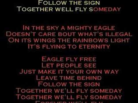 Eagle Fly Free - Helloween with Lyrics to song!