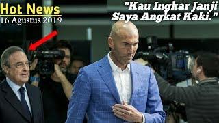 Ancaman Zidane Mundur Dari Real Madrid Karena Perez Ingkar Janji