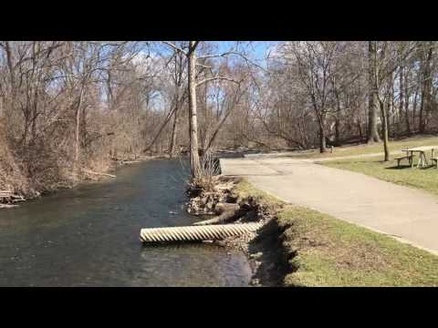 Riverside Park Video in Auburn Hills Michigan March 11, 2017