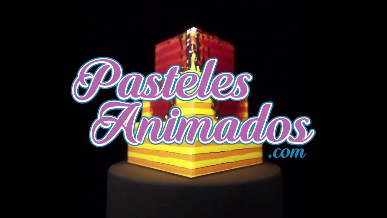 Pasteles Animados. Pasteles Con Video Mapping En Ecuador