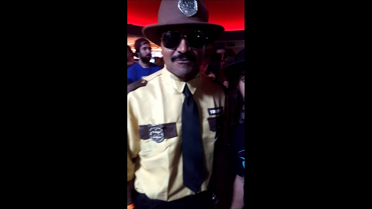 Halloween Super Troopers Costume!