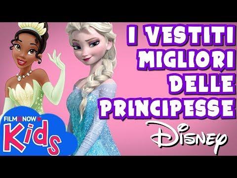 I vestiti più belli delle Principesse Disney