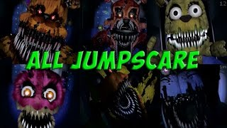 Five Nights at Freddy s 4 ALL JUMPSCARE ALL DEATHS ВСЕ СКРИМЕРЫ ФНАФ 4 FNAF 4