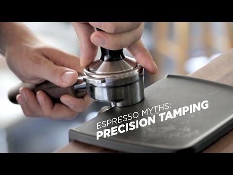 Espresso Myths: Precision Tamping