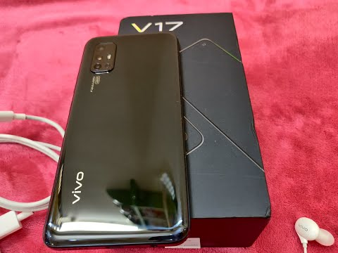 Vivo V17 Midnight Ocean Black, Unboxing & Review | World's Smallest Hole Punch Camera Price Just 17K