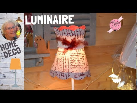comment fabriquer un abat jour conique en forme de chapeau. Black Bedroom Furniture Sets. Home Design Ideas