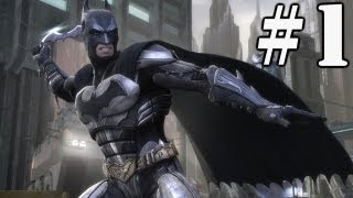 Chapter 1: Batman - Injustice Gods Among Us Complete Gameplay Walkthrough