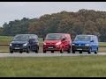 Compact van challenge - Ford vs Mercedes-Benz vs Volkswagen