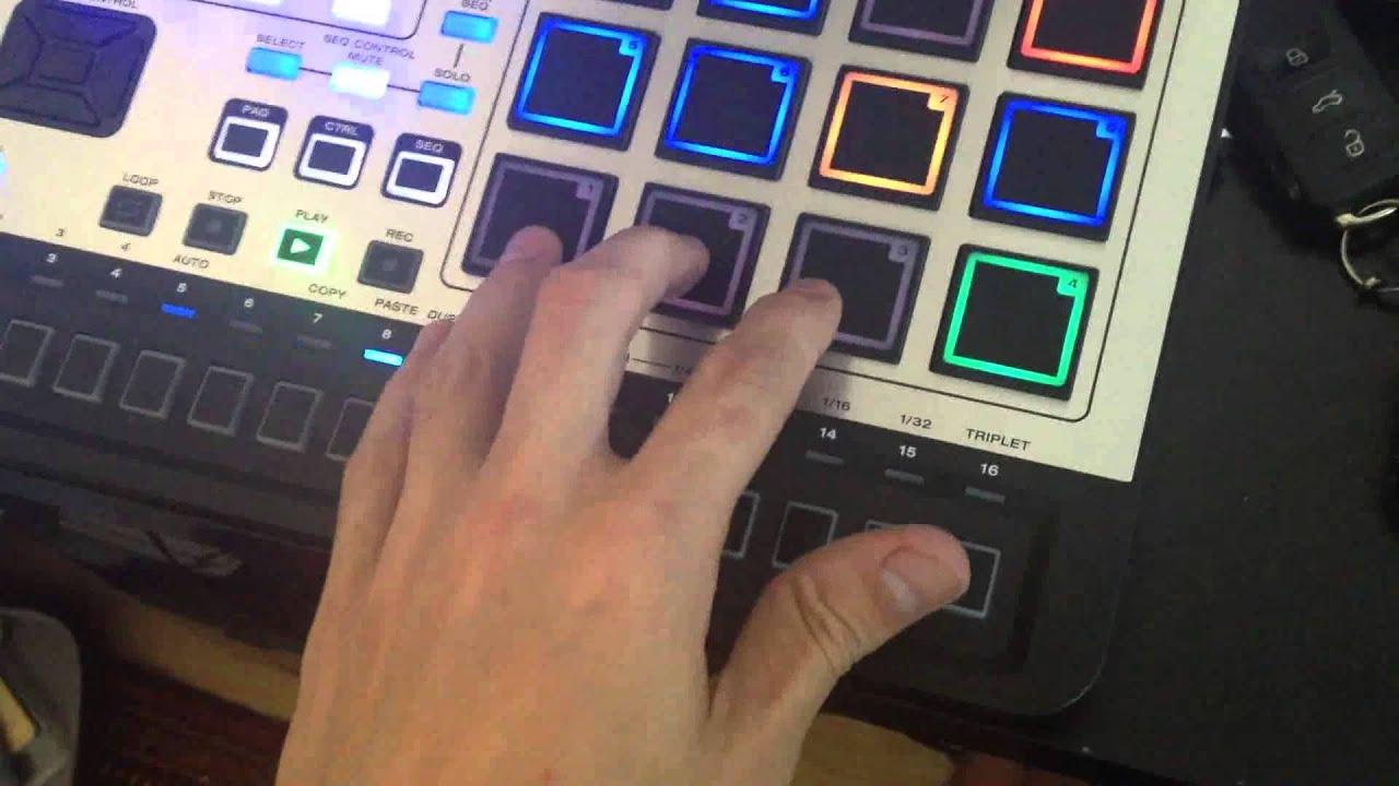 M-audio trigger finger  .