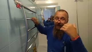видео Сушилка для белья в ванную