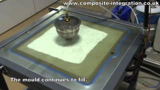 Vacuum RTM (RTM Light) Test-Panel Mould Demonstration