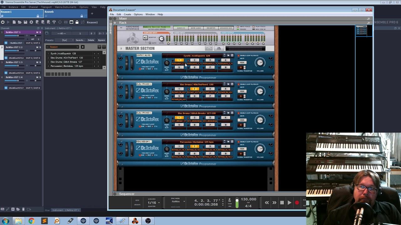 Propellerheads Reason 10 In Vienna Ensemble Pro 6 Logic Pro X