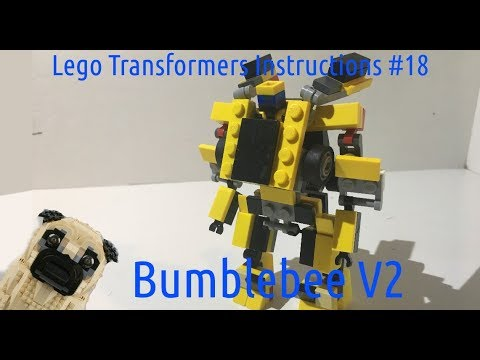 Lego Transformers Instructions 18 Bumblebee V2 S2 Youtube