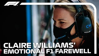 Claire Williams' Emotional Formula 1 Farewell