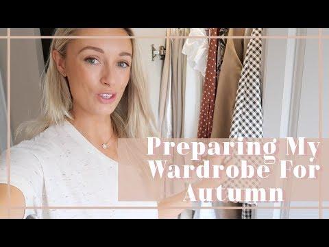 HOW I PREPARE MY WARDROBE FOR AUTUMN  🍂 // Fashion Mumblr