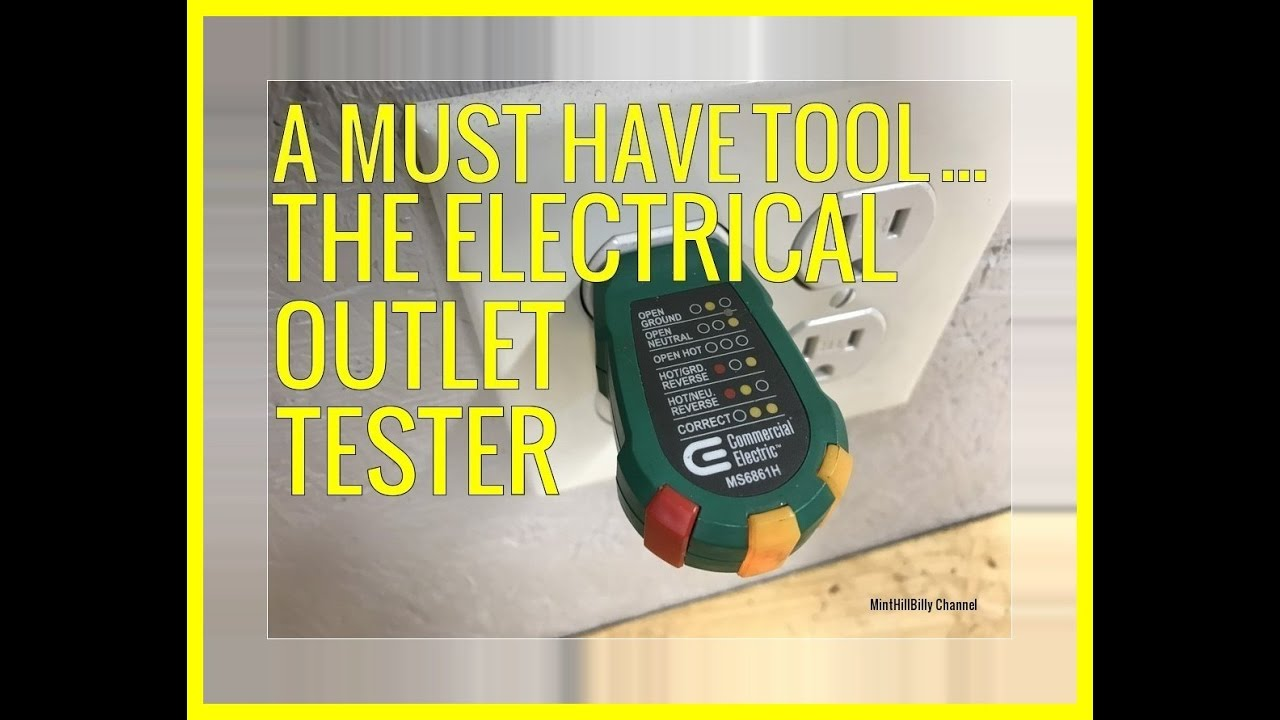 A Must Have Tool The Electrical Outlet Tester How To Use And Why House Wiring Tools You Should It