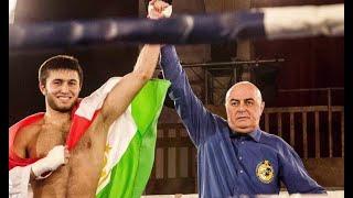 Боксер Мехрубон Сангинов одержал восьмую победу на профессиональном ринге