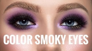 Фото New Year's Color Smoky Eyes By Anastasia Aliaksandrovich