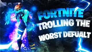 Trolling the BIGGEST NOOB I've ever seen - Fortnite Battle Royale
