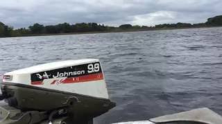 1974 9.9hp Johnson outboard motor